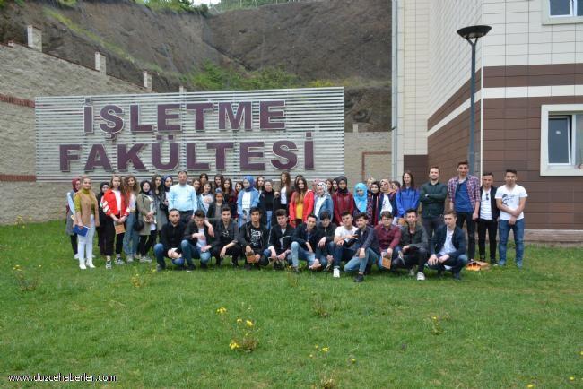 Gerede Anadolu Lisesi Üniversitemizi Ziyaret Etti